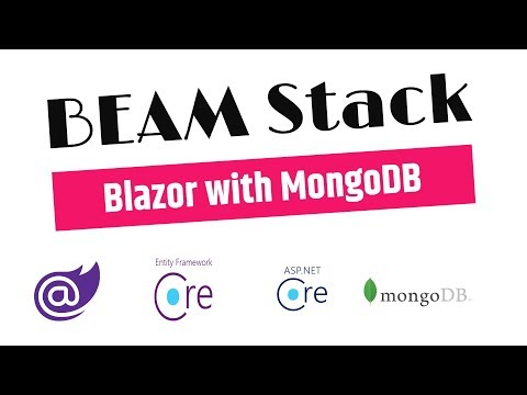 Blazor SPA Framework C# with MongoDB - Part 1 thumbnail