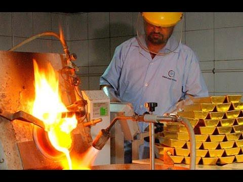 Video Proses Pembuatan Emas