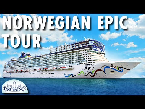 Norwegian Epic Tour ~ Norwegian Cruise Line ~ Cruise Ship Tour
