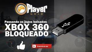 Passando jogos baixados para o pen drive (  Xbox 360 bloqueado )