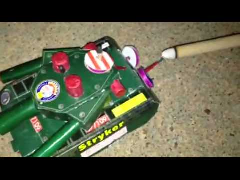 Stryker Tank Firework Review  New Years 2013 Fireworks