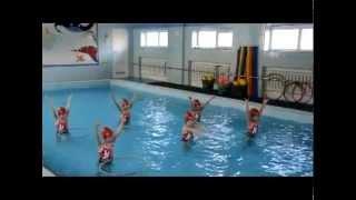 Синхронное плавание в детском саду