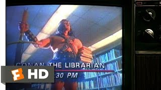 UHF (9/12) Movie CLIP - Conan the Librarian (1989) HD