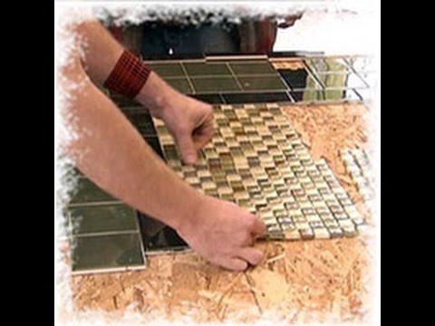 Монтаж OSB-плиты на бетонный пол - YouTube