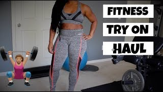 Fitness Clothing Try On Haul 2018 (Affordable)
