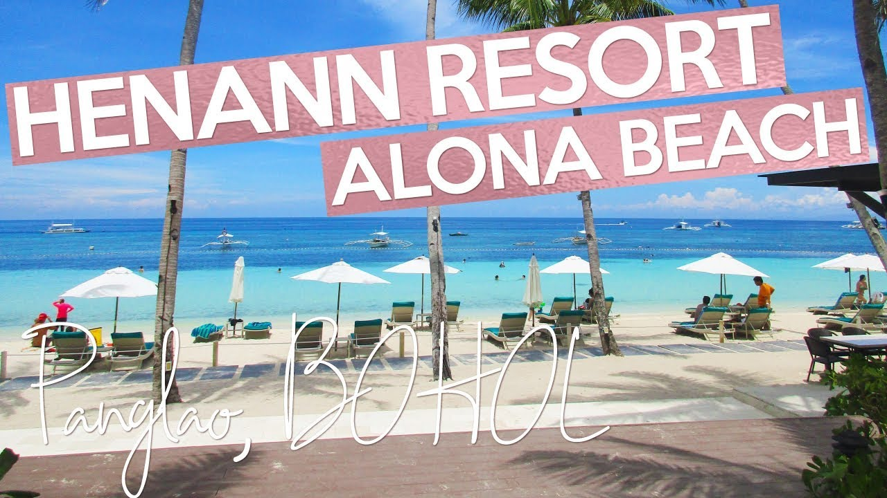henann resort alona beach bohol philippines youtube
