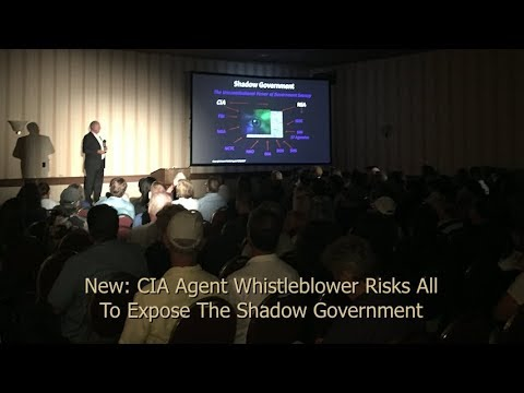 New: CIA Agent Whistleblower Risks All To Expose The Shadow