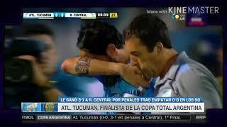 ATL. TUCUMAN VS ROSARIO CENTRAL/COPA ARGENTINA, SEMI FINAL