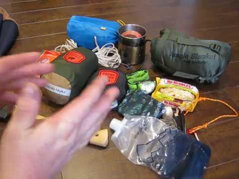 Minimal Stealth/Camping Gear