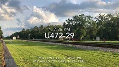 74 trains in 54 hours at Folkston Ga May 31st - June 2nd,4th 2018 Q031,032 have juice now