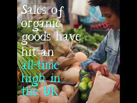 The demand for organic is growing... Soil Association Market Report 2018
