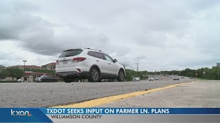 TxDOT wants input on plans to widen Parmer Lane to ease congestion