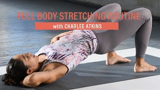 A deep, full-body stretching routine with Charlee Atkins