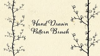 Illustrator | Hand Drawn Pattern Brush
