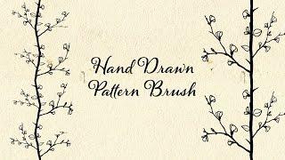 Illustrator | Hand Drawn Pattern Brush