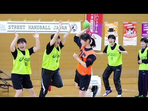 Japan Street Handball Federation (ストリートハンドボール ) held the North Japan Street Handball Festival.