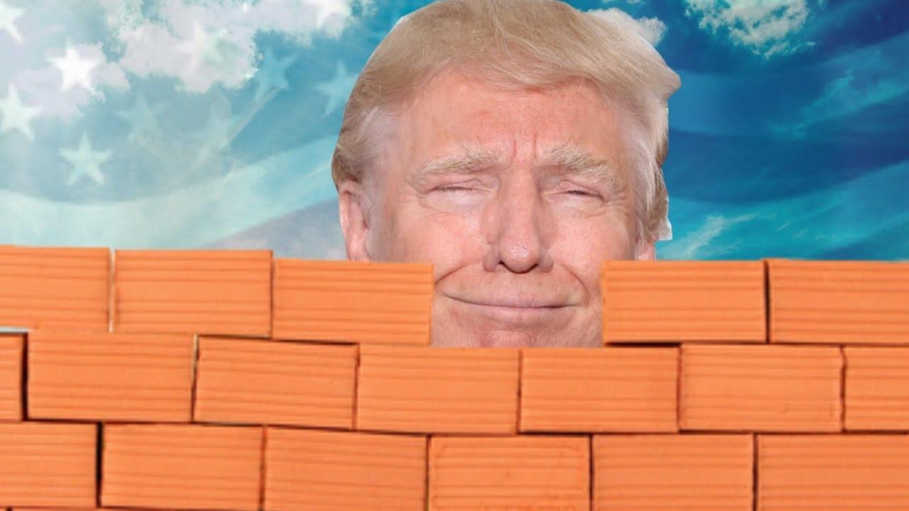 MIjando em cima do muro no texas do TRUMP pago pelo mexicanos  Maxresdefault