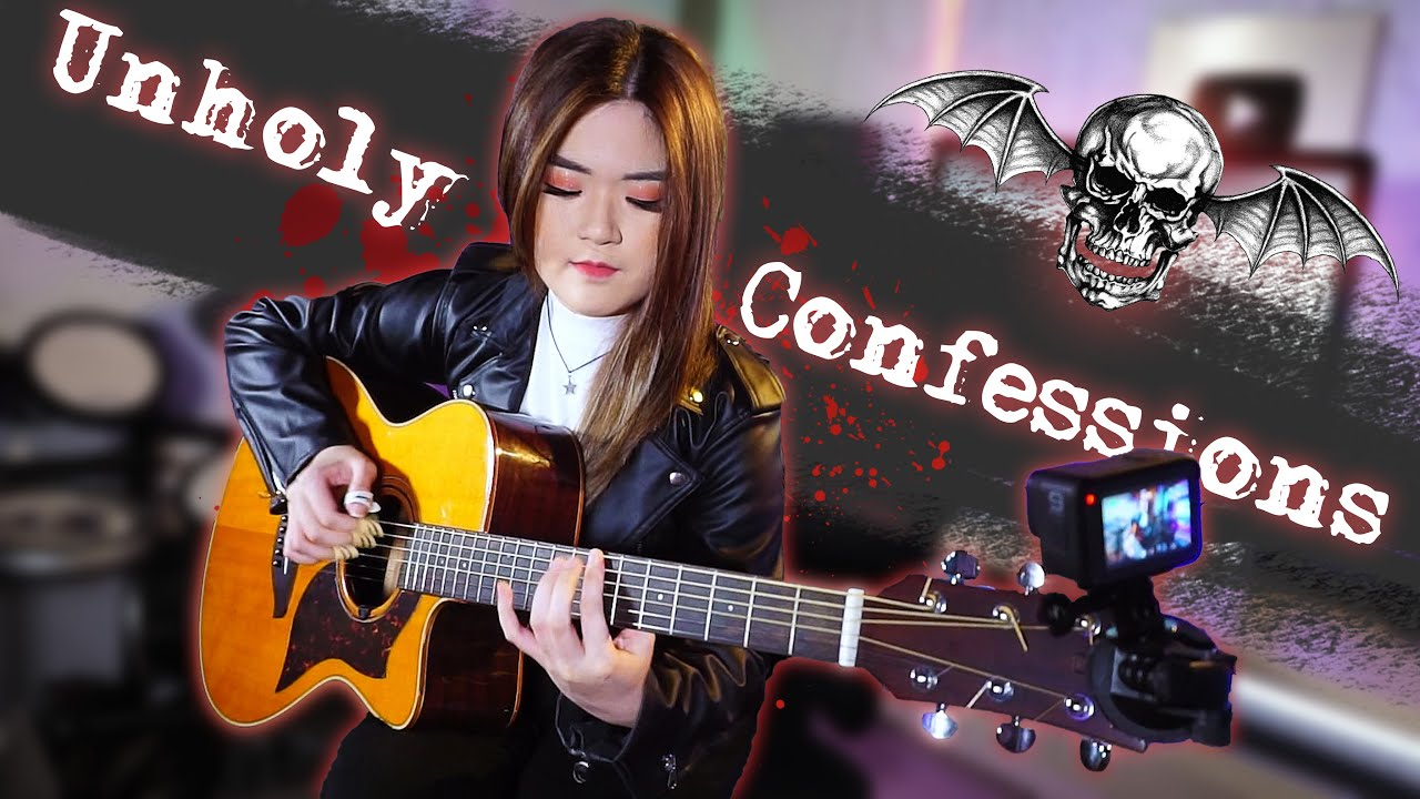 (Avenged Sevenfold) Unholy Confessions - Fingerstyle Guitar Cover   Josephine Alexandra