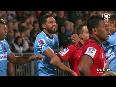 2018 Super Rugby Round 13: Crusaders vs Waratahs