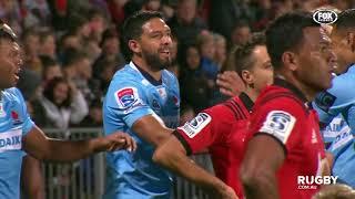 2018 Super Rugby Round 13: Crusaders vs Waratahs