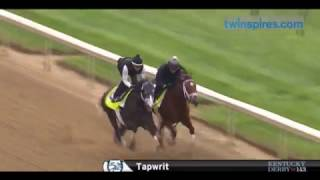 Tapwrit and Patch Breeze for Kentucky Derby