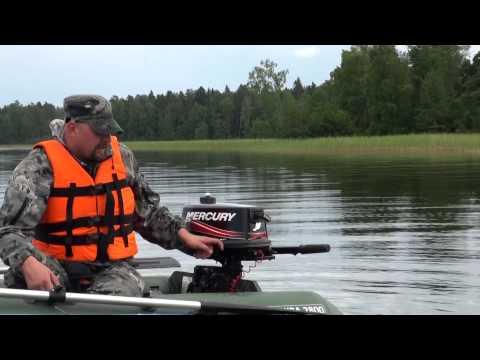 Обзор и тест: лодочный мотор Mercury 5 M