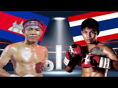Seng Sroeun Vs Yod Khaowang(thai), Khmer Boxing Bayon 16 June 2017, Kun Khmer vs Muay Thai