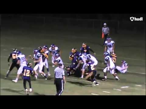 Connor Davis 2015 Macon East Football Highlights