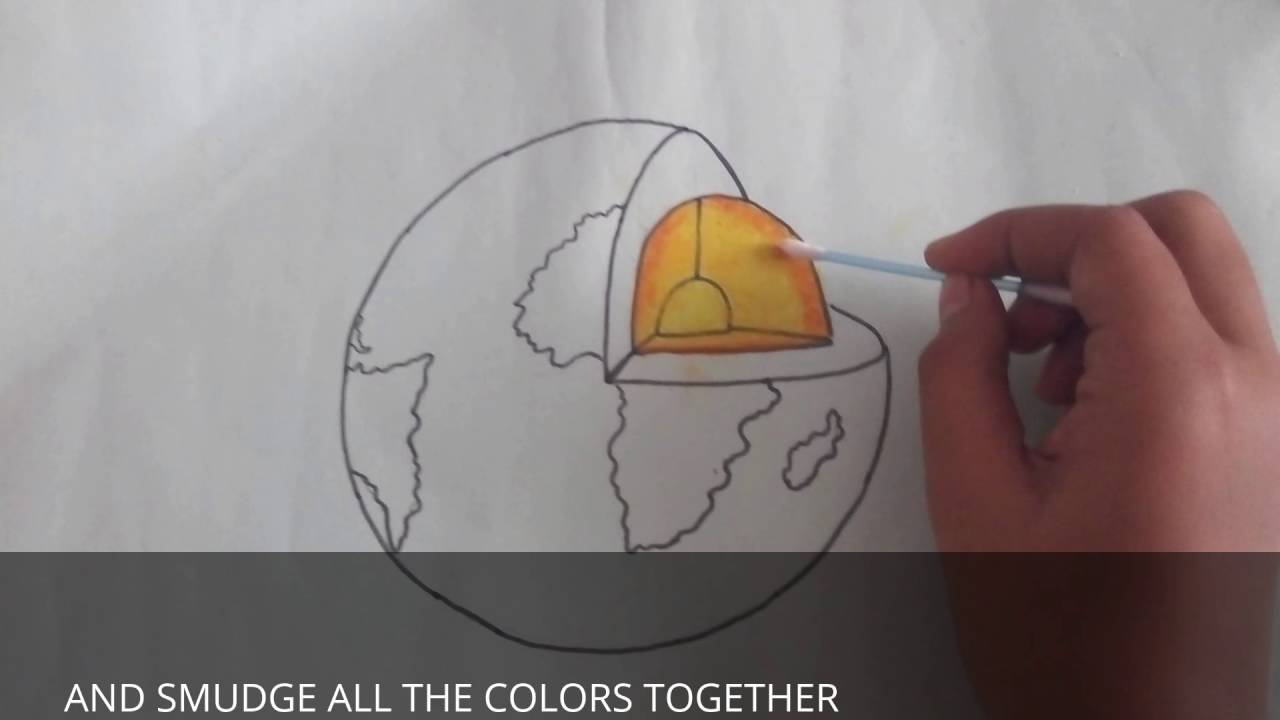 How to make the diagram of the layers o the earth youtube how to make the diagram of the layers o the earth ccuart Gallery