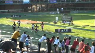 Charlyncia Stennis 2010 AAU Jr. Olympics Nationals 400m 1.03.06 lane 1.mpg