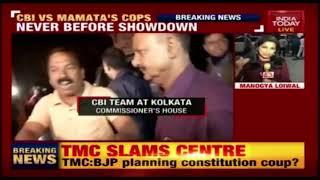 Explosive Face Off Between Mamata's Police And CBI In Kolkata