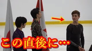 羽生結弦のオータムクラシック2018表彰式で見せた姿はまさにジェントルマン!!可愛すぎる国歌斉唱と周囲に対する対応が神すぎた!!#yuzuruhanyu 羽生結弦 検索動画 49