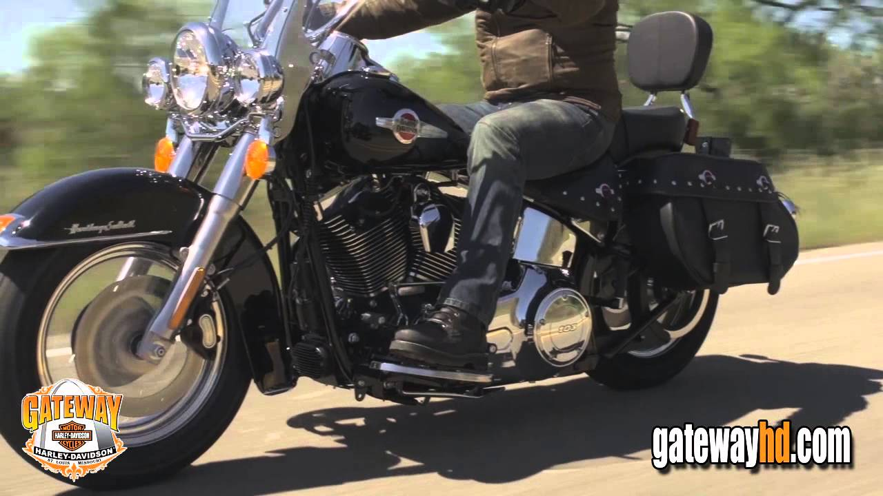 NEW 2016 Harley Davidson FLSTC Heritage Softail Classic Motorcycle For Sale - YouTube