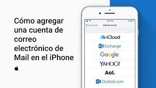 Cómo Agregar Una Cuenta De Correo Electrónico De Mail En El Iphone O Ipad – Soporte Técnico De Apple