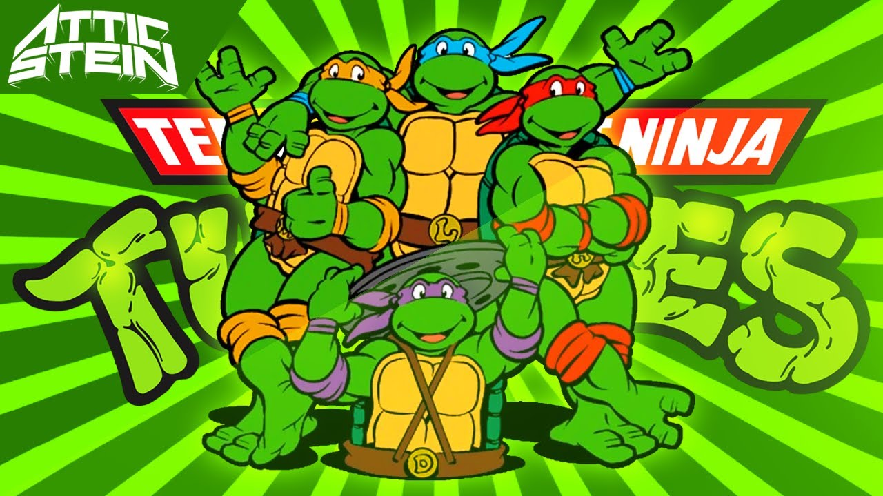 TEENAGE MUTANT NINJA TURTLES THEME SONG ...