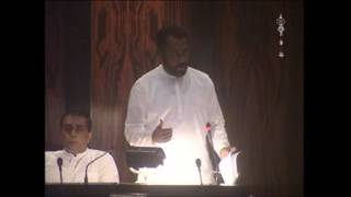 MP Hector Appuhamy on Poaching by Indian Fishermen in Sri Lankan Waters.
