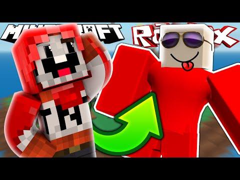 EXPLODINGTNT PLAYS ROBLOX!? | Minecraft & Roblox