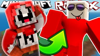EXPLODINGTNT PLAYS ROBLOX!? | Minecraft & Roblox