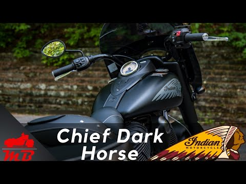 2018 Indian Chief Dark Horse Detailed Review