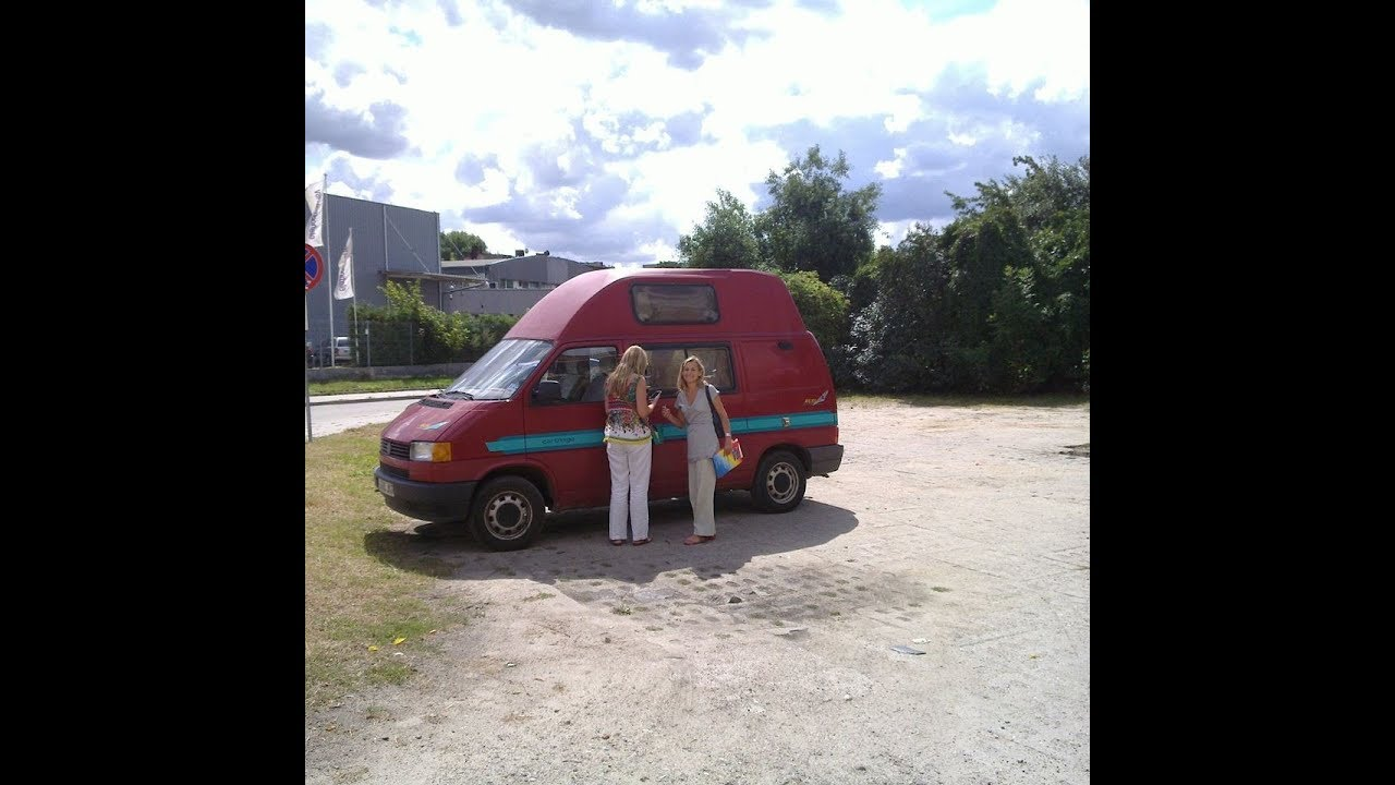 VW T4 camper van with Carthago conversion - YouTube