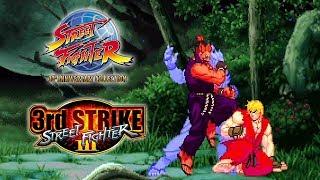 SFIII 3rd Strike (PS4) Online Matches - SF 30th Anniversary Collection @ 1080p (60ᶠᵖˢ) HD ✔