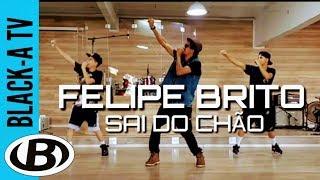 coreografia de funk gospel muito fácil | FELIPE BRITO - SAI DO CHÃO - BLACK-A FERNANDO