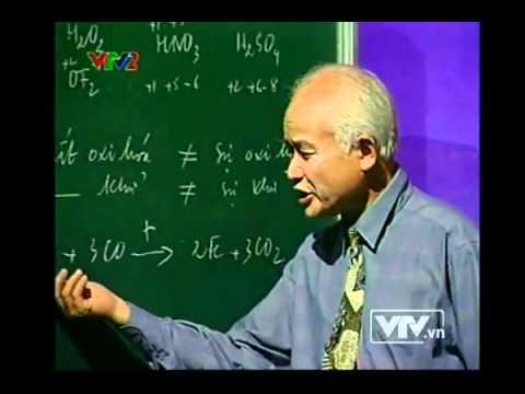 Tìm hiểu phản ứng oxi hoá khử -- Phần 1- VTV2