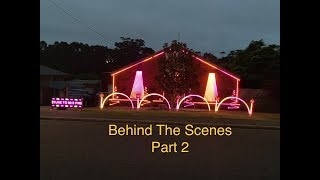 "2018 Halloween Light Display - Behind the Scenes Part 2 ""The Electronics"""