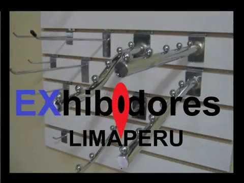 Colgadores ganchos exhibidores para tiendas de ropa - Colgadores de pared ...