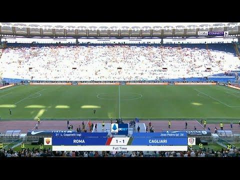 ملخص مباراة روما وكالياري