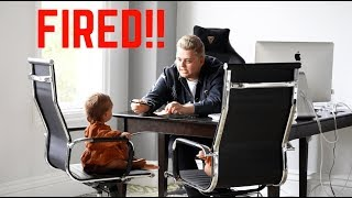 FIRED OUR NANNY SO NICK CROMPTON BABYSITS!