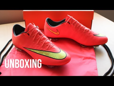 new styles 488cb 69768 NEW | Unboxing Nike Mercurial Vapor X 10 FG - Hyper Punch/Gold/Black