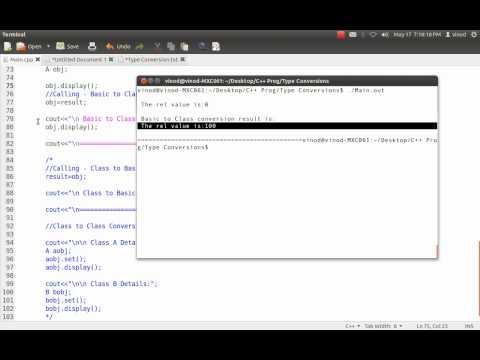 C++ Type Conversions