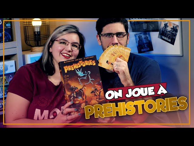 [On joue à] PREHISTORIES chez The Flying Games